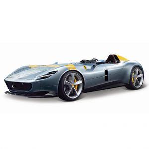Bburago 18-26027 R&P - Modellauto - Ferrari Monza SP1 (silber, Maßstab 1:24)