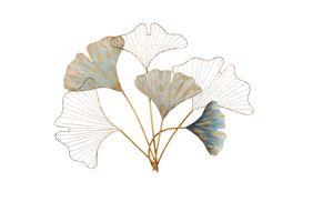 Wanddekoration Ginkgoblätter