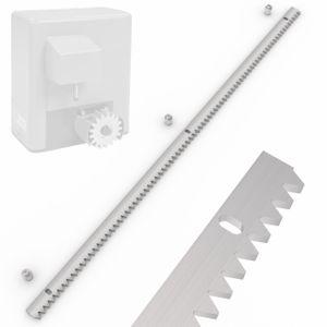 Zahnschiene für Schiebetor Antrieb SLGOK600 Zahnstange 100cm Stahl verzinkt