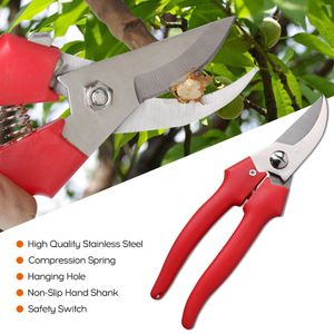 Tragbare Multifunktions-Schere aus rostfreiem Stahl Mehrzweckschere mit rotem Handschaft und Ellenbogen