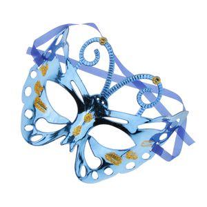 Venezianische Maske Augenmaske Maskenball Maske Maskerade Maske Mit Farbe Blau