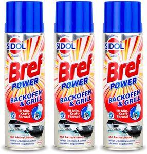 Bref Sidol Backofenreiniger Reiniger 3x500 ml Reinigungsmittel Sauberkeit