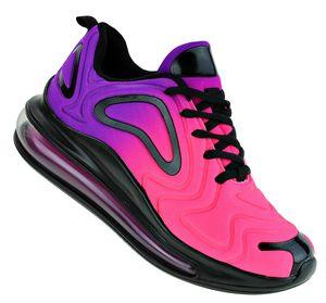 Art 546 Neon Luftpolster Turnschuhe Schuhe Sneaker Sportschuhe Neu Damen, Schuhgröße:39