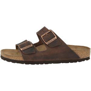 BIRKENSTOCK Arizona Herren Pantoletten Habana Schuhe, Größe:43
