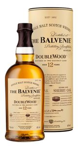 The Balvenie 12 Jahre Old Double Wood Single Malt Scotch Whisky in Geschenkpackung | 40 % vol | 0,7 l