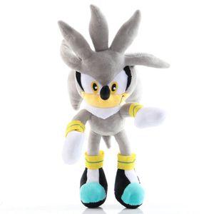 30cm grau Plush Toys Puppe Sonic Soft Stuffed Dolls Gifts Plüsch Spielzeuge