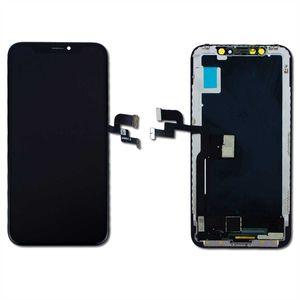 iPhone X iPhone 10 3D Retina LCD Display Bildschirm Glas Scheibe Touch Screen Digitizer A1865 A1901 A1902 Black Reparatur Set