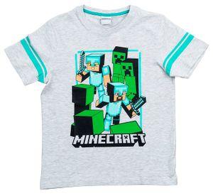 Minecraft T-Shirt Good Odds grau Größe 128