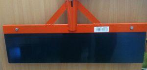 Kerbl Stoßscharre 50cm ohne Stiel Blech mit 1mm Stärke