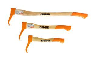 Gartenpaul Profi 3er CANAD Sappie Set bestehend aus Sappie 38cm + 50cm + 80cm | KWF-Profi-Siegel