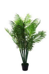 XXL Phoenix Palme Farnpalme, Kokospalme JWT1583 Riesige künstliche grün 130cm