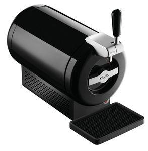 Krups VB650810 Bierdruckmaschine Der Sub Black Beer Torp Shotdriver 2L