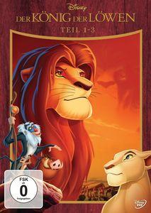 Der König der Löwen (2016) - DVD Trilogie Pack (Sl