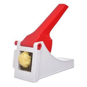 Pommesschneider und Gemüseschneider zur einfachen und schnellen Herstellung von Pommes und Gemüsesticks. Kartoffelschneider.