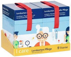 I care Lernkarten Pflege - Set (im Umkarton)