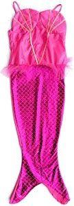 Slammer rosa Meerjungfrau 3-6 Jahre kleiden Kostüme