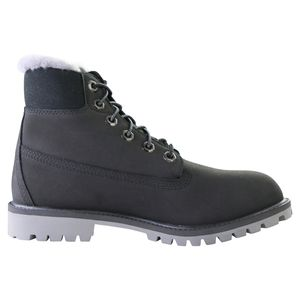 Timberland 6 Inch Premium WP Shearling Boot Kinder Stiefel Schwarz (TB0A41UX001) Größe: 38