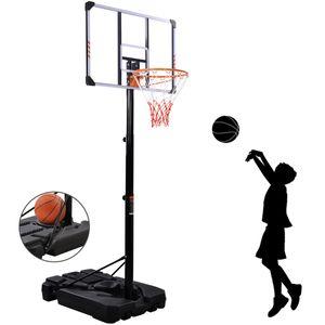 18-Zoll Die T/ür Basketballkorb for Kinder schwarz Jugendliche und Erwachsene Basketballkorb outdoor mit st/änder Outdoor-Feste Basketballkorb Standard-Basketball Rim justierbare Basketball St/änder