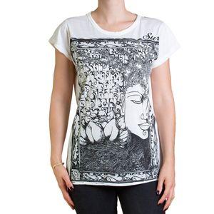 PANASIAM T-Shirt Buddha, Farbe/Design:grau, Größe:S
