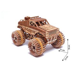 Wood Trick - Holz Modellbau Monster Truck 556 Teile
