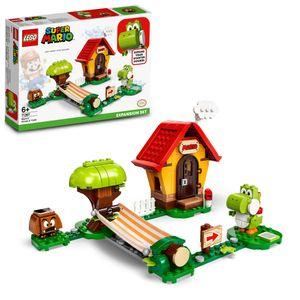 LEGO 71367 Super Mario Marios Haus und Yoshi – Erweiterungsset, Bauspiel