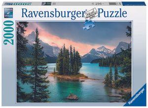 """Ravensburger Puzzle - """"Spirit Island"""" Canada - 2000 Teile"""