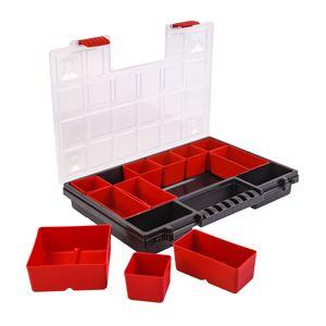 Sortimentskasten 344 x 249 x 50mm , 11 Einlegeschachteln , Kleinteilemagazin