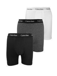 Calvin Klein Herren 3er Boxershorts, Mehrfarbig XL