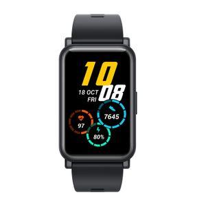 HONOR Watch ES - Gesundheits und Fitness Smartwatch, 1,64-Zoll-AMOLED-Display mit 95 Trainingsmodi, Schrittzählern, Schlafmonitor, (Meteoriten Schwarz)
