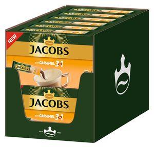 JACOBS 3in1 Typ Caramel löslicher Kaffee 12er Pack 12 x 10 Getränke Sticks