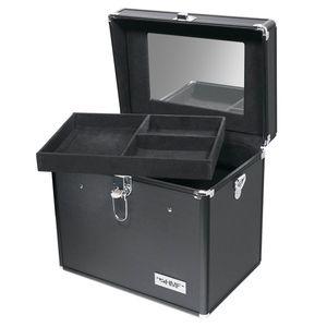 HMF 14903-02 Schminkkoffer, Alu Beauty Case, 29 x 25,5 x 20 cm