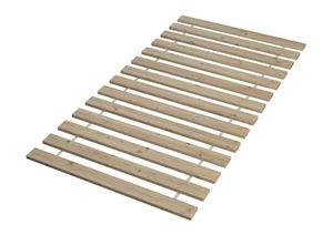 Doppel-Etagenbett weiß 140x200 und 90x200 Erwachsenen-Stockbett Kiefer Massivholz 60.19-09-14W