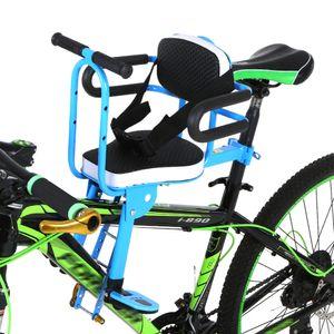 Fahrradkindersitze Schnellspanner Kindersitz für Kinder mit Vorderradmontage Kindersattel Mountainbike Kindersicherheit Sattelkissen für Vordersitze