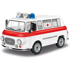 Cobi 24595 Barkas B1000 SMH3 Krankenwagen - 157 Pcs Bausatz DDR Automodell