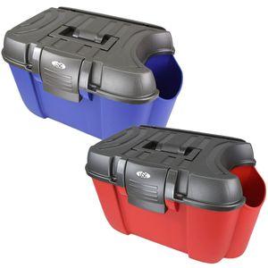 USG Putzkiste Putzbox Koala rot oder blau Kunststoffbox mit Flaschenfach, Farbe:blau