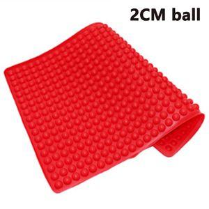 Silikon Backmatte - 2cm Halbkugel Silikonmatte- Backform für Hundekekse & Hundeleckerlies, Backpapier - Backunterlage - Pralinenform