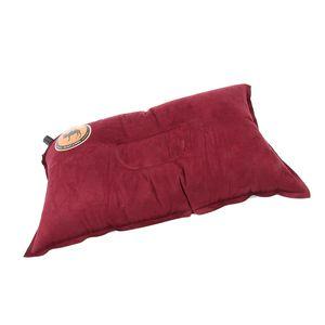 Selbstaufblasende Kampierende Kissen Reise Kissen Kopfstütze, Die Nach Hause Draußen Wandert Farbe rot