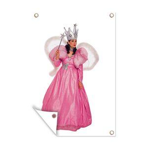 Gartenposter - Frau in Fee Prinzessin Kostüm - 80x120 cm