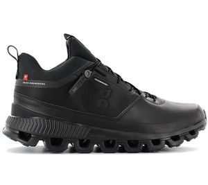 ON Running Cloud Hi Waterproof - Herren Outdoor Schuhe Schwarz 28.99674 , Größe: EU 44 US 10