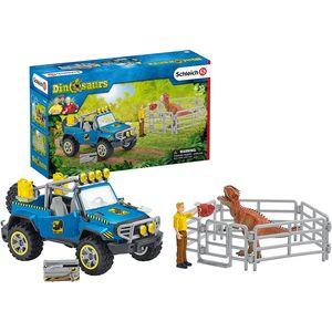 Geländewagen mit DinoAußenposten
