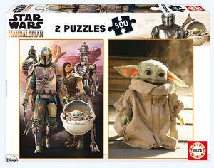 The Mandalorian 2 x 500 Teile Puzzle