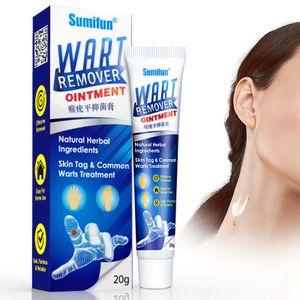 1X Sumifun Warzenentfernung Körperwarzen Behandlung Creme Fußpflege Creme Haut Tag Entferner