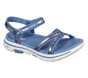 Skechers Damen Sandalen GO WALK 5 CELESTIAL Blau, Schuhgröße:EUR 39