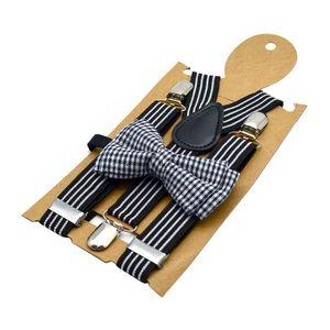 Kid Boy verstellbarer Hosenträger mit Y-Rücken und aufsteckbaren Hosenträgern 2 Streifen wie beschrieben