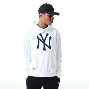 New Era - MLB New York Yankees Infill Logo Hoodie - Weiß : Weiß XL Farbe: Weiß Größe: XL