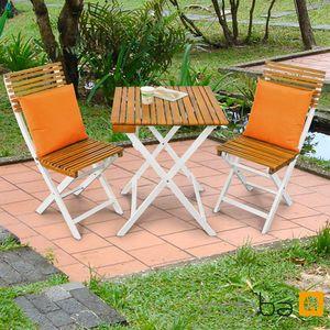 Gartenmöbel Set 3-teilig Nizza - Bistro Set - Serie Balcony - IND-70168-BISE3