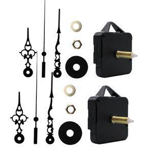 Metall Ersatzuhrwerk Quarz Uhrwerk mit Uhrzeiger Zeigersatz, Wanduhr Basteln Set