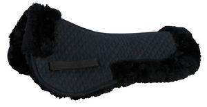 Lammfell Unterkissen, Farbe:schwarz