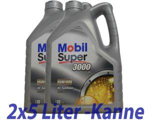 Mobil Super 3000 X1 5W-40 2 x 5 Liter