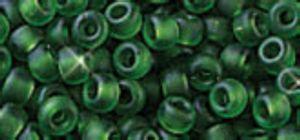 Miyuki-Rocailles, 2,2mm, 12g Matt-Turmalin